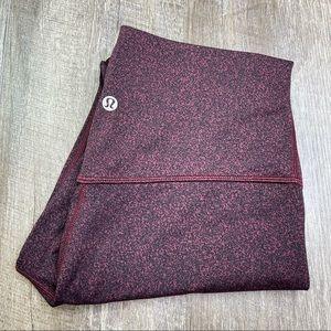 """lululemon Granulite Garnet Align Pant 25"""" Size 6"""